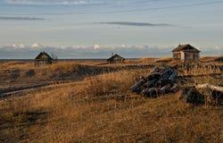 Het noorden van Rusland. stock foto