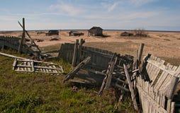 Het noorden van Russia.Desert002 stock afbeeldingen