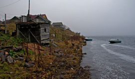 Het noorden van Russia.Rivers.008 stock foto