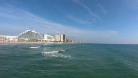 Het noordenkant van Daytona Beach van Main Street -Pijler 2