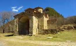 Het noordenkerk in Arkhyz stock afbeeldingen
