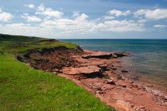 Het noordenkust van PEI Royalty-vrije Stock Afbeeldingen