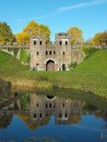 Het noordenlevensonderhoud van het Kasteel van Cardiff royalty-vrije stock fotografie