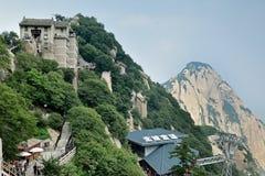 Het noordenpiek in Onderstel Hua China royalty-vrije stock foto's