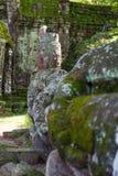 Het noordenpoort van Angkor Thome Royalty-vrije Stock Afbeelding