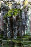Het noordenpoort van Angkor Thome Stock Afbeelding