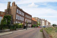 Het noordenrand, Wisbech, Cambridgeshire, Engeland Stock Afbeelding