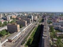 Het noordenstad van Rusland Stock Foto