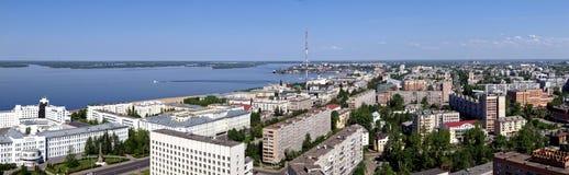 Het noordenstad van Rusland Royalty-vrije Stock Afbeelding