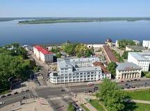 Het noordenstad van Rusland Royalty-vrije Stock Foto