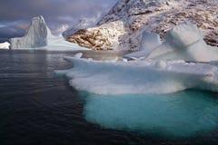 Het noordpoolgebied - Groenland Royalty-vrije Stock Afbeelding