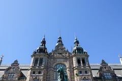 Het noordse Museum bij djurgarden stock fotografie