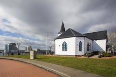 Het Noorse Centrum Cardiff van Kerkkunsten stock foto