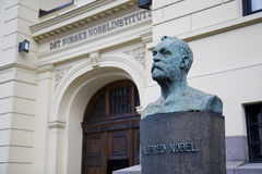 Het Noorse Instituut van Nobel stock foto