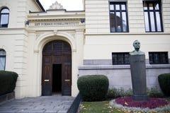Het Noorse Instituut van Nobel in Oslo royalty-vrije stock foto