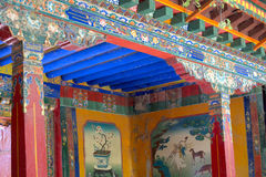 Het Norbulingka-Park in Lhasa Royalty-vrije Stock Foto's