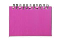 Het notitieboekje van de kleur Royalty-vrije Stock Foto