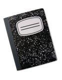 Het notitieboekje van de samenstelling Stock Foto