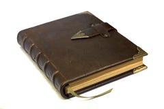 Het notitieboekje van het leer Royalty-vrije Stock Afbeelding