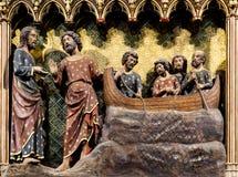 Het Notre Dame de Paris van Cathedrale Stock Afbeeldingen