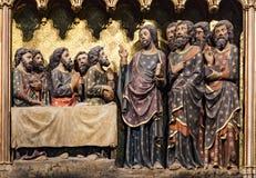 Het Notre Dame de Paris van Cathedrale Stock Fotografie