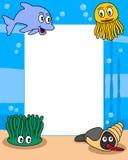Het oceaan Frame van de Foto van het Leven [1] stock illustratie