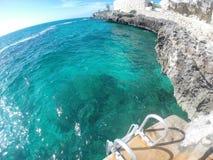 Het oceaan Samenvoegen Royalty-vrije Stock Fotografie