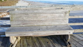 Het oceaanspoor van de scènepijler Stock Fotografie