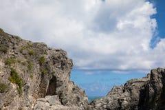 Het Oceaanstrand van de Bermudas Royalty-vrije Stock Foto