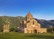 Het Odzunklooster is een Armeens klooster van de VI die eeuw in het dorp van Odzun wordt gevestigd stock afbeeldingen
