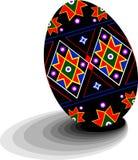 Het Oekraïense Ei (van Pysanky) Stock Afbeeldingen
