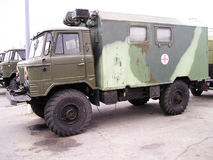 Het Oekraïense leger van GAZ Stock Afbeeldingen