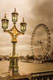 Het officiële oog van Londen royalty-vrije stock afbeelding