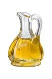 Het Olie-en azijnstelletje van de Olijfolie Royalty-vrije Stock Afbeelding