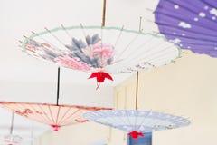 Het olie-Papier van Azië paraplu Stock Fotografie