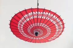 Het olie-Papier van Azië paraplu Stock Afbeeldingen