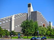 Het Olympische Dorp van het Hotel van Montreal Canada royalty-vrije stock foto's