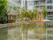 Het Olympische Dorp van Vancouver Stock Foto's