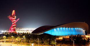 Het Olympische Park van Londen Royalty-vrije Stock Afbeelding