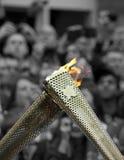 Het olympische Relais van de Toorts Royalty-vrije Stock Afbeeldingen