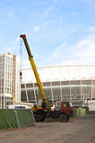 Het Olympische Stadion in aanbouw voor de UEFA-EURO 2012 Stock Afbeeldingen