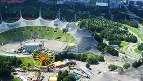 Het Olympische Stadion en het Olympische Park stock footage