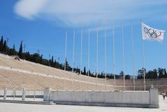 Het Olympische Stadion van Athene Stock Foto