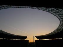 Het Olympische Stadion van Berlijn Stock Afbeeldingen