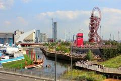 Het Olympische Stadion van Londen Stock Foto's