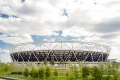 Het Olympische Stadion van Londen Stock Afbeeldingen