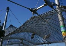 Het Olympische Stadion van München Stock Foto