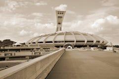 Het olympische stadion van Montreal Stock Afbeelding