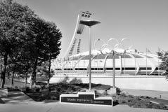 Het olympische stadion van Montreal Stock Foto's