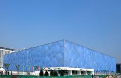 Het Olympische stadion van Peking Stock Foto's